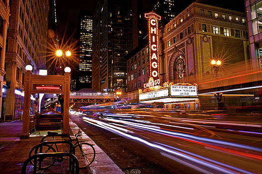 The Chicago Theatre by Linda Unger