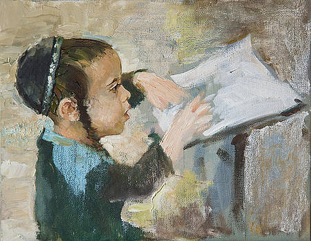 The Child and The BOOK by Misha Lapitskiy