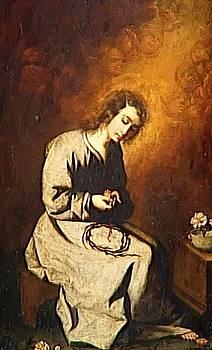 Zurbaran Francisco de - The Child Jesus In The Spine