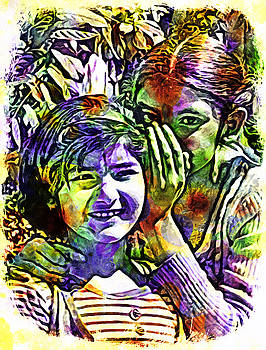 Bliss Of Art - The childhood colours