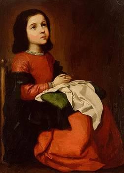 Zurbaran Francisco de - The Childhood Of The Virgin