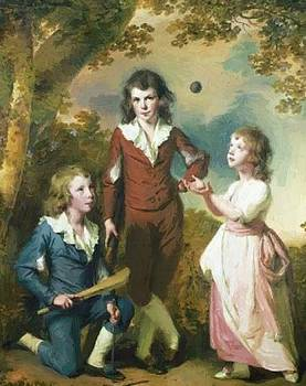Wright Joseph - The Children Of Hugh And Sarah Wood Of Swanwick Derbyshire