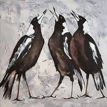 The Choir Boys by Kathy  Karas