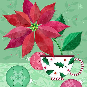 The Christmas Poinsettia by Valerie Drake Lesiak