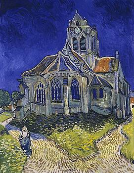 The Church At Auvers by Van Gogh