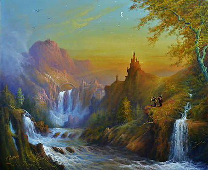 The Citadel Under The Moon by Gilronan