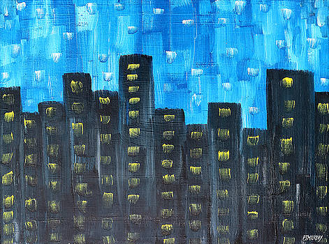 The City At Night by Patrick J Murphy