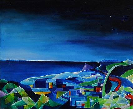 Wolfgang Schweizer - the city at the sea