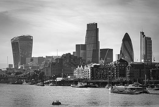 The City in Mono by Stuart Gennery