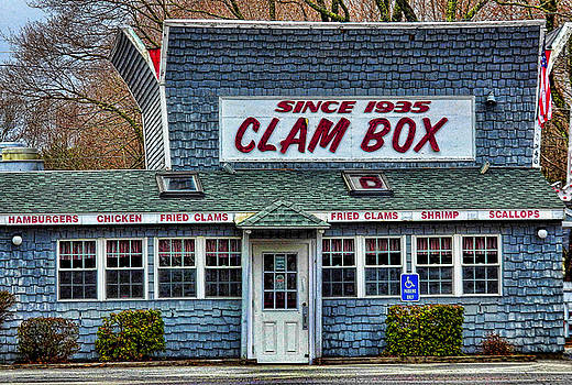 The Clam Box in Ipswich by Nancy De Flon