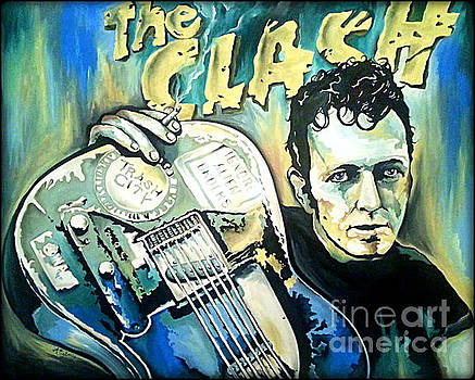 The Clash Joe Strummer by Amy Belonio