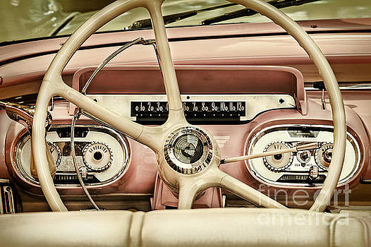 The Classic Pink Convertible by Martin Bergsma