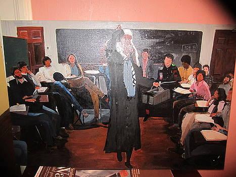 The classroom by Zeenath Diyanidh