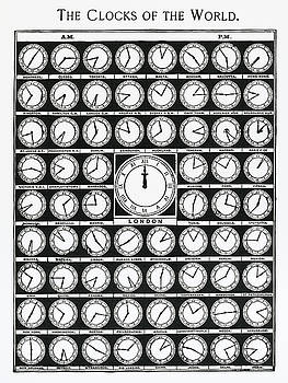 The Clocks of the World by Unknown