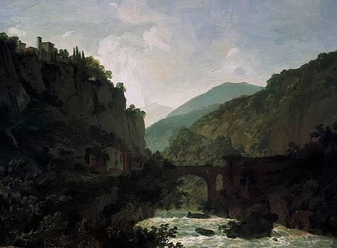 Wright Joseph - The Cloister Of San Cosimato