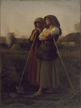 Jules Breton - The Close Of Day