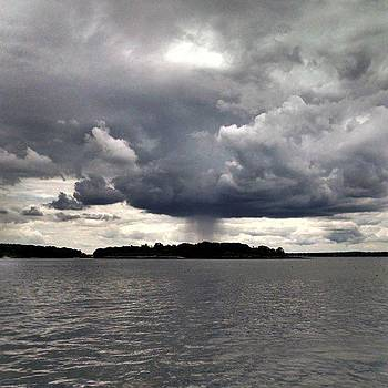 The Clouds Were Pretty Impressive Today by Melissa Yosua-Davis