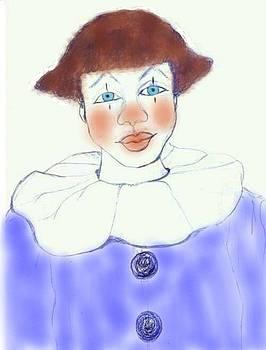 The Clown I by Rosalin Moss