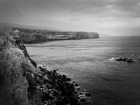 The Coast of Terceira by Kelly Hazel