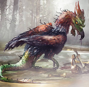 The Cockatrice by Ryan Barger