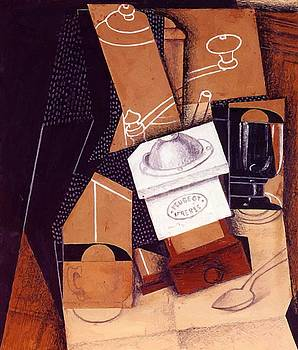 The Coffee Grinder 1916 by Gris Juan