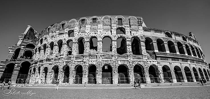 The Colliseum, Rome by Subroto Mukherjee