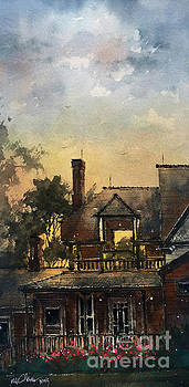 The Colonels Sleeping Porch by Tim Oliver