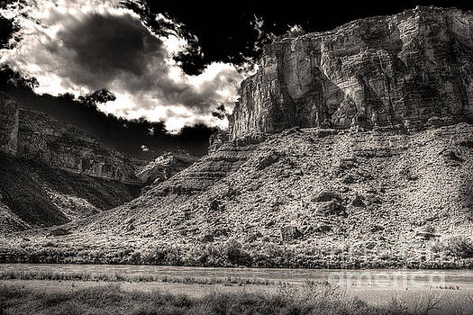 The Colorado East of Moab by William Fields