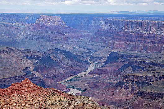 Reimar Gaertner - The Colorado river and the Red Canyon