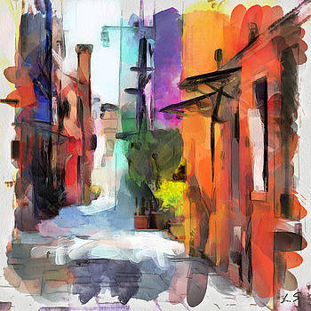 The colored houses of Burano by Sergey Lukashin