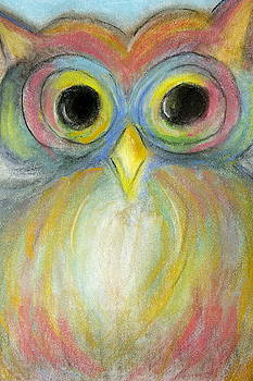 The colorful owl by Danielle Allard