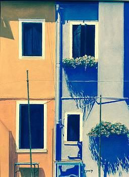 The Colors of Burano by Harvey Rogosin