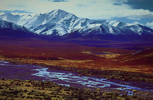 The Colors of Toklat River by Michael Balen