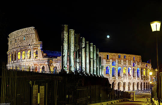 Weston Westmoreland - The Colosseum at Night