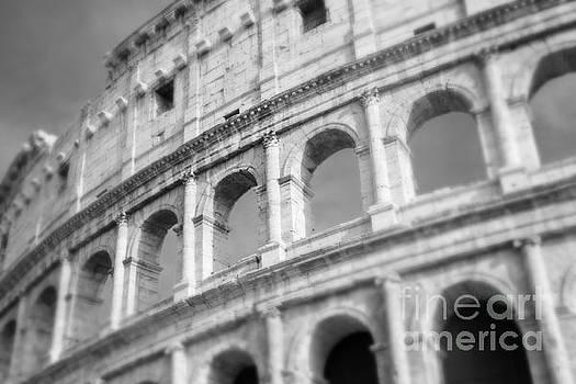 Sonja Quintero - The Colosseum in Black and White