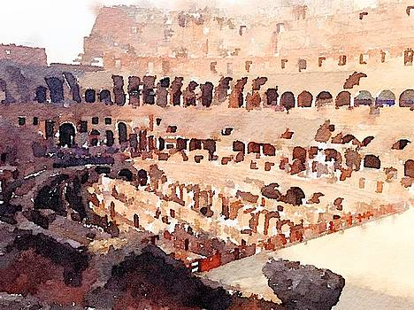 The Colosseum by Kenna Westerman