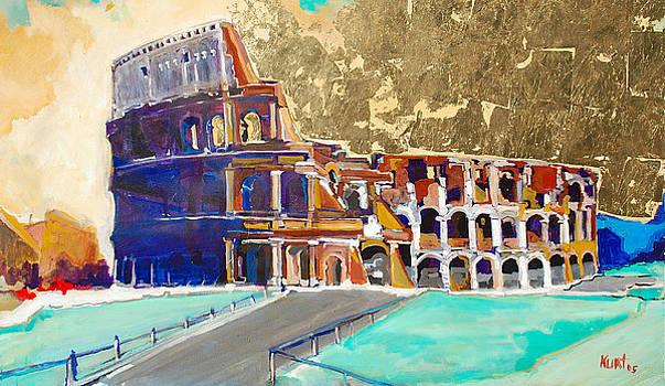 The Colosseum by Kurt Hausmann