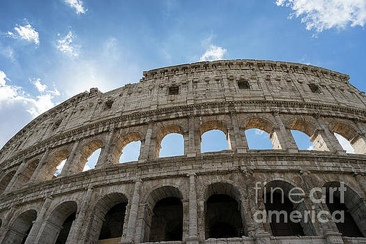 The Colosseum Rome by Ann Garrett
