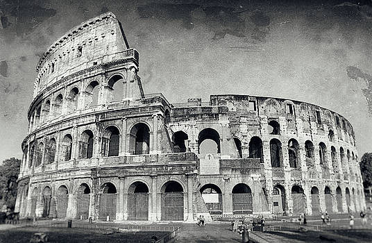 The Colosseum, Rome. by Jeremy Voisey