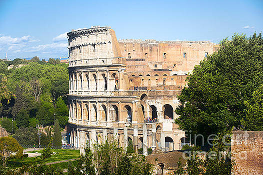 The Colosseum by Stefano Senise