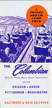 The Columbian by Baltimore and Ohio Railroad