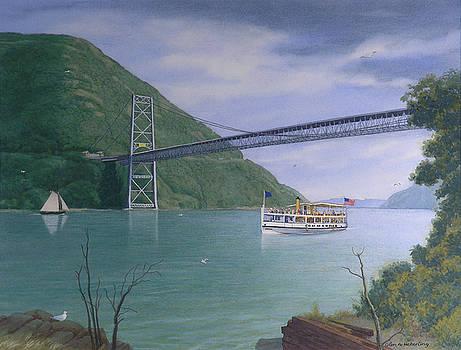 The Commander At Bear Mt. Bridge  by Glen Heberling