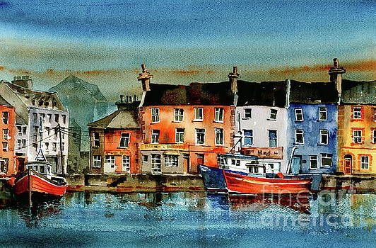 Val Byrne - The Commercial Docks, Galway Citie