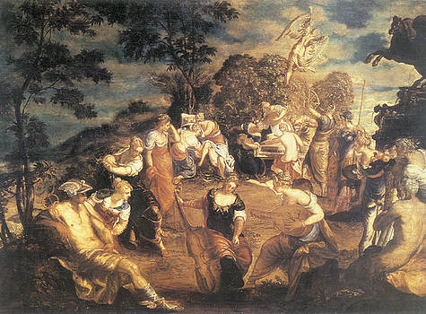 Tintoretto - The Concert of Muses