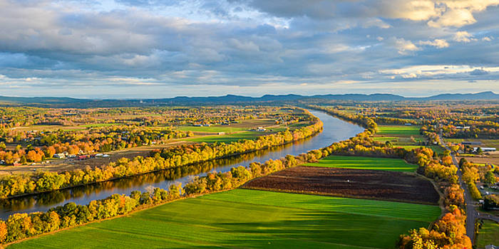 The Connecticut River in Massachusetts by Matthew MacPherson
