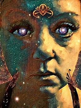 The Consciousness of Being Human a Self Portrait by Vennie Kocsis