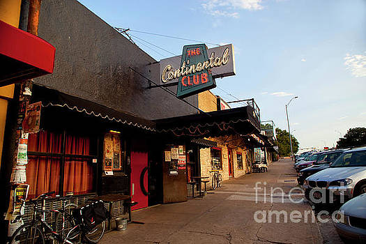 Herronstock Prints - The Continental Club is a local favorite front door and sidewalk lo