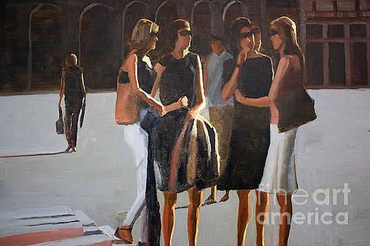 The conversation by Tate Hamilton