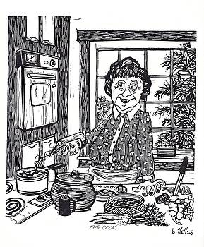 The Cook by Barry Nelles Art