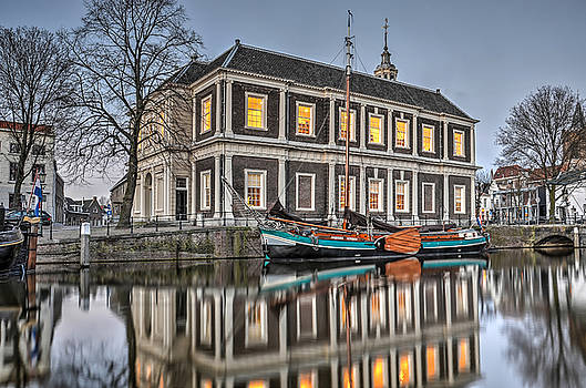 The Corn Exchange in Schiedam by Frans Blok